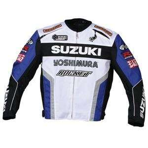 Joe Rocket Suzuki Supersport Replica Jacket   X Large/White/Blue/Black