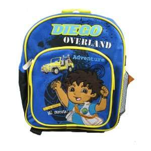com Diego / School Backpack / Toddler Size / Adventure Toys & Games