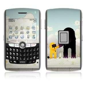 BlackBerry World 8800/8820/8830 Vinyl Decal Skin   Snow