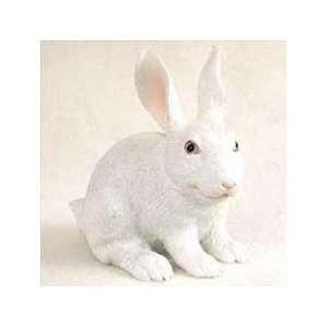 White Rabbit Miniature Figurine Home & Kitchen