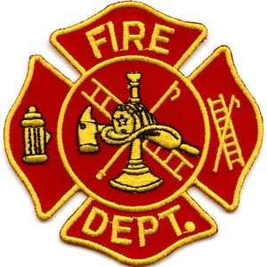 Red Fire Dept Logo: Arts, Crafts & Sewing
