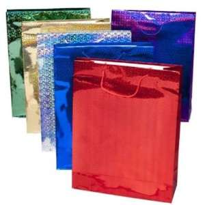 New   Jumbo Holographic Gift Bag Case Pack 72 by DDI Home & Kitchen