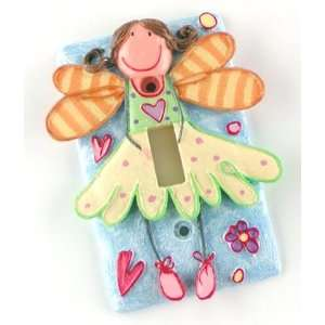 Disney Tinkerbell Fairies   Single Light Switch Plate