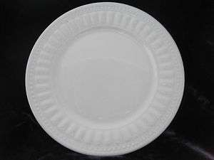 FINE CHINA MAJESTICWARE DINNER PLATE WHITE DINNERWARE   MINT
