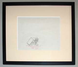Walt Disney, Donald Duck, Production Drawing, 1937
