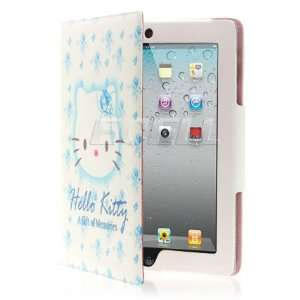KITTY LEATHER CASE & STAND FOR APPLE iPAD 2