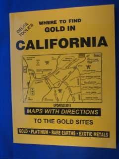 WHERE TO FIND GOLD IN CALIFORNIA prospecting (Toole) 0965455904