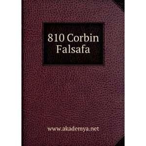 810 Corbin Falsafa www.akademya.net Books