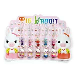 Korea Drama Goods Youre Beautiful Pig Rabbit Cell Phone Strap Set (5