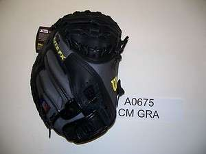Wilson RHT A0675 CM32 Gray/Black 32 Catchers Mitt