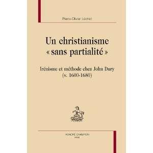 de John Dury (9782745321527) Pierre Olivier Léchot Books