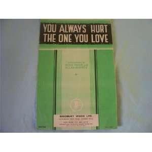 the One You Love (Sheet Music) Doris Fisher / Allan Roberts Books