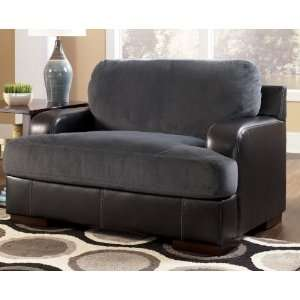 Farris Pewter Plush Large Living Room Chair