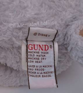 DISNEY Classic Pooh GUND Plush EEYORE Stuffed Animal Toy Lovey Grey