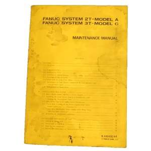 Fanuc System Maintenance Manual Model A & C Fanuc  Books