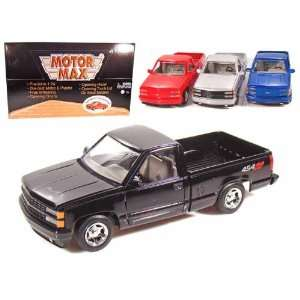 Set of 4   Chevy Pick Up Truck 1500 SS454 1/24 Toys & Games