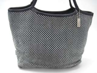 ELLIOT LUCCA Black White Print Shoulder Handbag