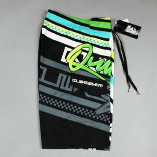 Awesome QS Mens Boardie shorts BoardShorts Green SZ 30 32 34 36