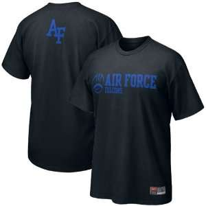 Nike Air Force Falcons Black 2009 Practice T shirt Sports