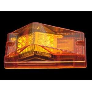 One Amber LED Mid Turn Signal Trailer Light w 18 Diodes Automotive