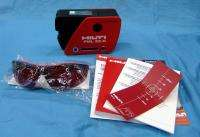 Hilti PML 32 R Line Laser Level Kit w/ Case, Glasses & Manual in Box