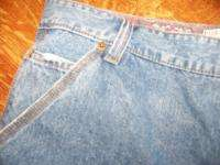 Womens 36x26 PLUGG jeans plus petite size pants short