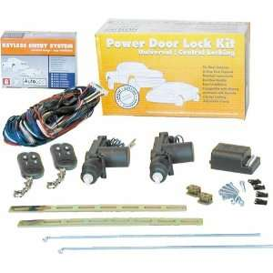 AutoLoc 10946 Custom Power Door Lock Kit with Remote for