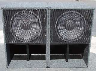 JBL 2241 18 inch woofer subwoofer speaker pair