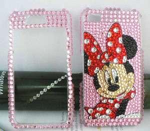 pink Crystal Rhinestone Bling FULL hard Case for Apple iPhone 4 4G
