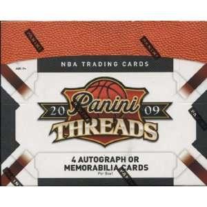 2009/10 Panini Threads NBA Hobby (24 Packs) Sports