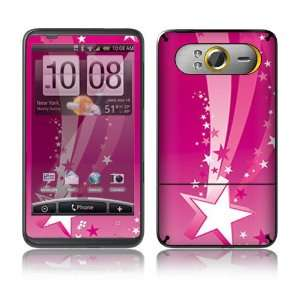 Pink Stars Decorative Skin Cover Decal Sticker for HTC HD7