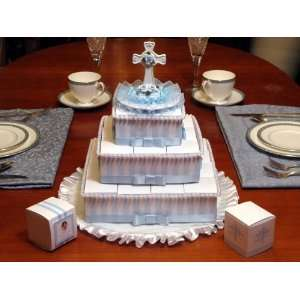 Baptism Centerpieces with 29 Rosary Favors: Health