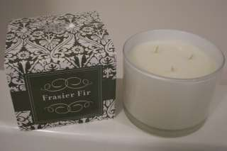 PADDYWAX FRASIER FIR 3 WICK SOY CANDLE FLORA & FAUNA HUGE 13 OZ