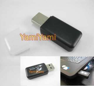 TF SDHC SD Cell Phone Card Reader Adapter For PC Laptop Black