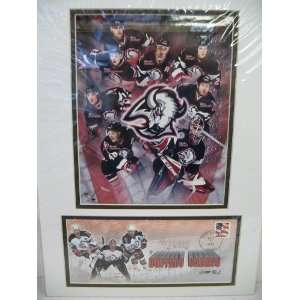 2004 Buffalo Sabres Photograph w/stamped picture envelope