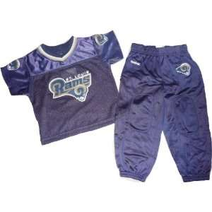 St Louis Rams Jersey / Shirt & Pants Set 4T Toddler 2 Piece Set Baby