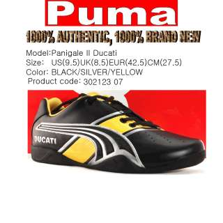 Brand new PUMA Panigale II Ducati shoes SIZE Mens 9.5