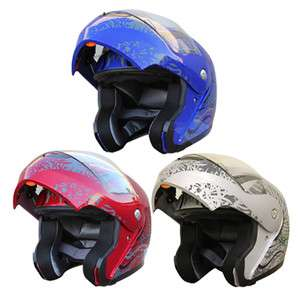 Motorcycle helmets Flip up Modular Helmets Full face DOT 228