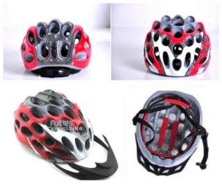 2012 NEW BICYCLE HERO BIKE HELMET CYCLING Red with Visor