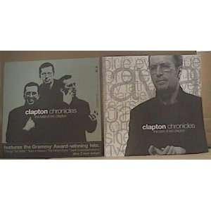 Eric Clapton Album Cover Poster Flat
