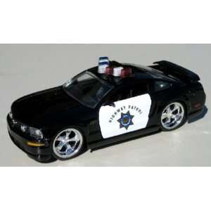 Jada 1/32 Highway Patrol Ford Mustang Toys & Games