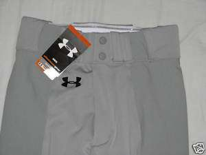 UNDER ARMOUR New Men Grey Small Baseball Pants Shirt