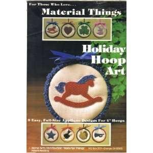 Holiday Hoop Art Arts, Crafts & Sewing