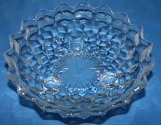 Fostoria AMERICAN Crystal 3 footed bowl