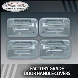 2004 2012 Ford F150 pickup Chrome Door Handle Covers (4dr w/ passenger