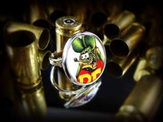 Rat Fink Ed Roth Hot Rod Culture Classic Rockabilly Sterling Silver