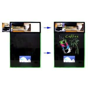 LED Display Message Menu Sign Writing Board + Light Box + LCD Screen