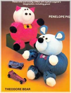 1982   14 Soft Sculpture Doll & Toy Patterns