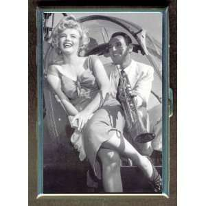 MARILYN MONROE HELICOPTER SEXY ID CIGARETTE CASE WALLET