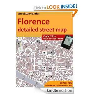 Map of Florence (Italy) eBookWorldAtlas Team  Kindle